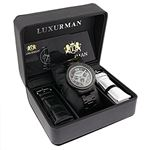 Mens Diamond Black Diamond Watch 2Ctw Of Diamond-4