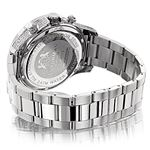 Mens Real Diamond Watch 0.5ct Two Tone L 90947 2