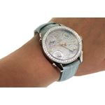 Jacob Co. Blue Band Mid-Size Five Time Zone 3.70-4