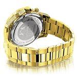 Luxurman Liberty Mens Real Diamond Watch 90242 2