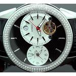 Aqua Master Diamond Automatic Black Mens 55770 2