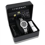 Ladies Genuine Diamond Watch by LUXURMAN 90001 4