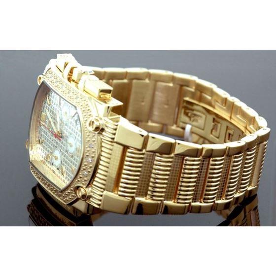 Agua Master 0.16ctw Mens Diamond Watch w 55547 2