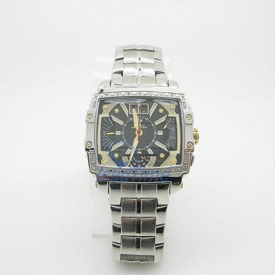 Mens Aqua Master Iced Out Diamond Watch W329AQ1 2