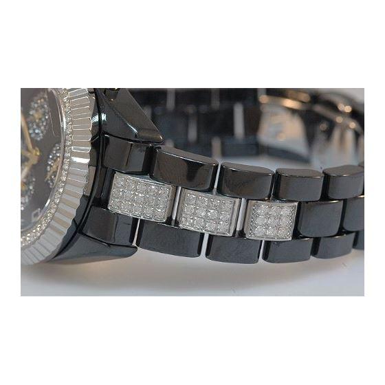 Men's Diamond Watch, 3.50 Ctw-4