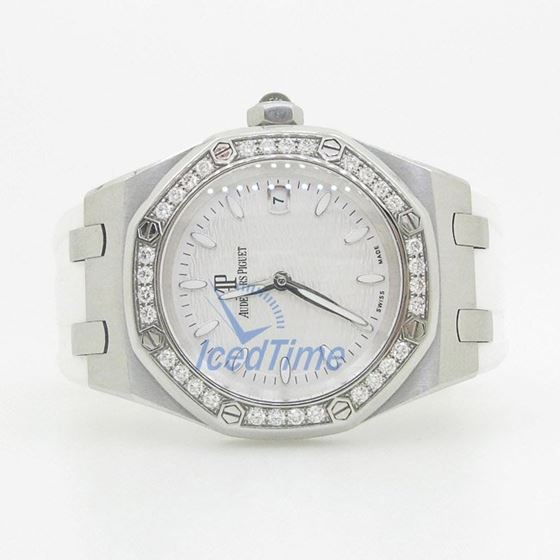 Audemars Piguet Royal Oak Lady Quartz Watch 67601ST.ZZ.D302CR.01.01 4