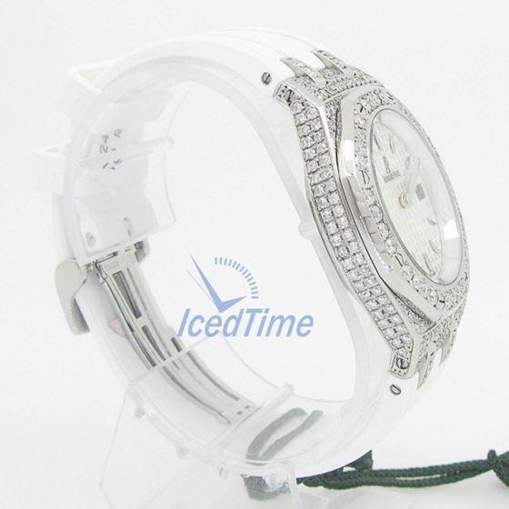 Audemars Piguet Royal Oak Lady Quartz Watch 67601ST.ZZ.D302CR.01.02 4