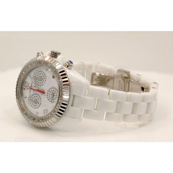 Aqua Master Ladies Ceramic Diamond Watch 1.25ctw W1151 2