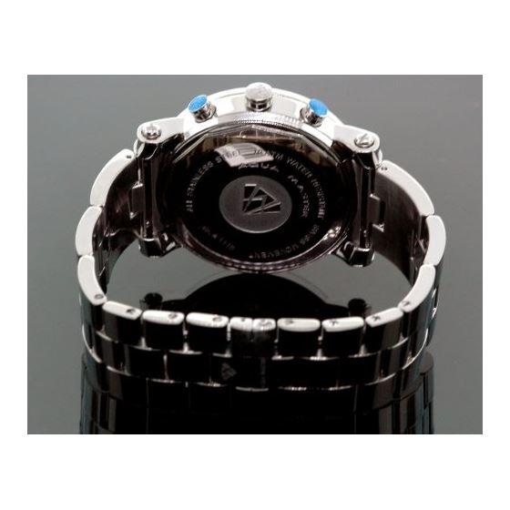 Diamond Mens Watch 3.60Ct W104a-4