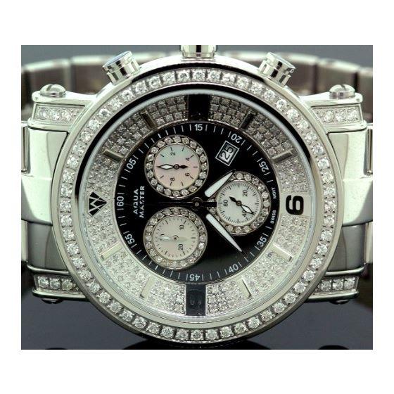 Diamond Mens Watch 3.60Ct W104a-2