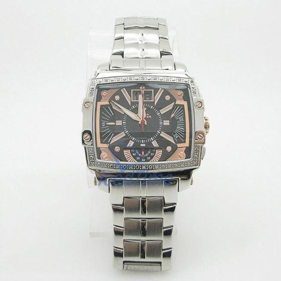 Mens Aqua Master Iced Out Diamond Watch W329AQ7 2