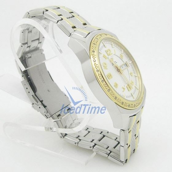 Mens Aqua Master Iced Out Diamond Watch W335AQ7 4