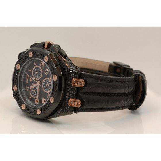 Aqua Master Royal Oak Mens Diamond Watch 8.50ctw W3254 2