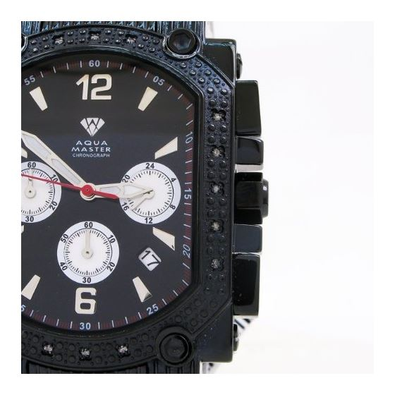 0.16 Ctw Mens Diamond Watch AQMW10-2