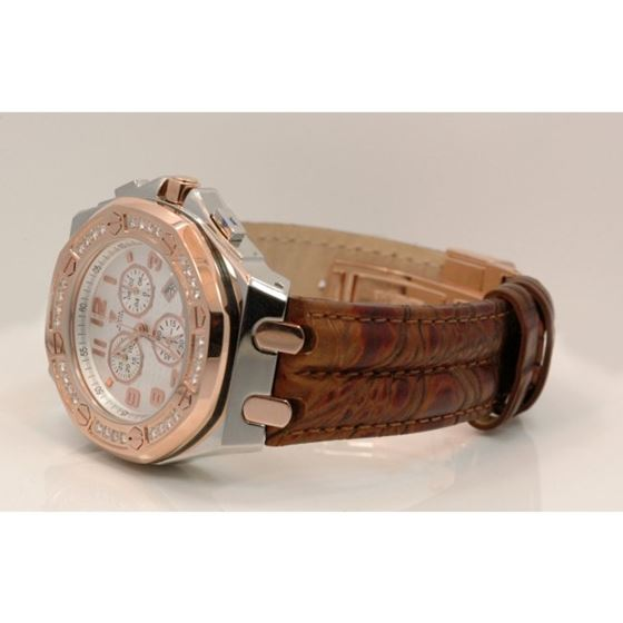 Aqua Master Royal Oak Mens Diamond Watch 49202 2