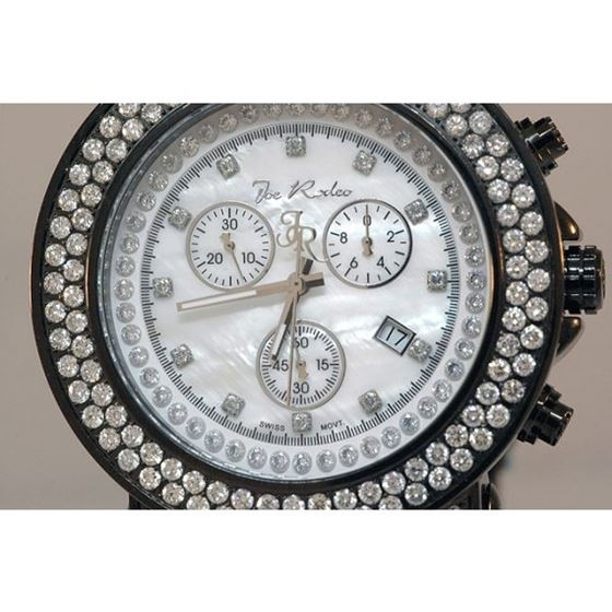 Mens Joe Rodeo Junior Diamond Watch 4.75ct 2