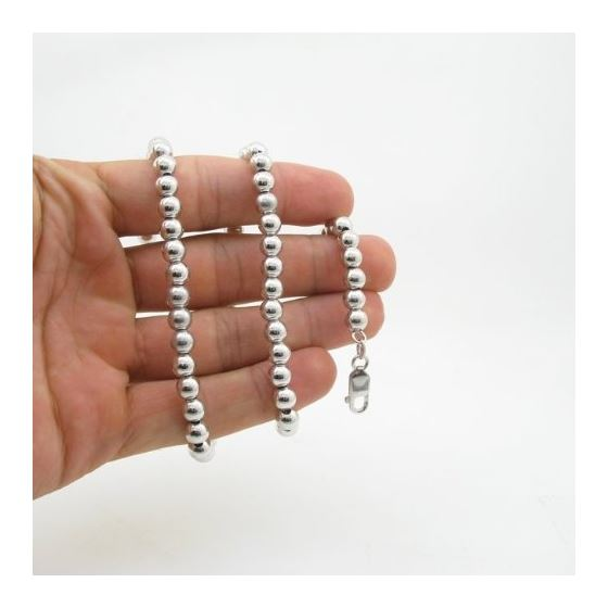 925 Sterling Silver Italian Chain 18 inches long and 6mm wide GSC166 4