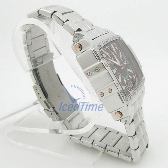 Mens Aqua Master Iced Out Diamond Watch W329AQ7 4