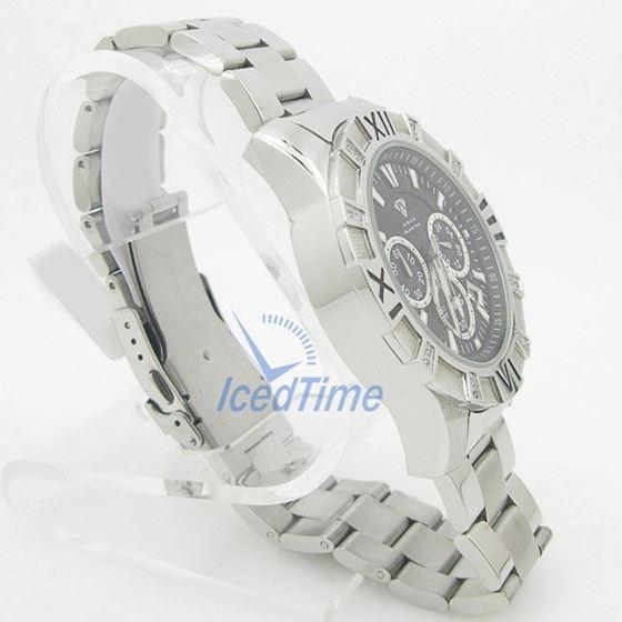 Mens Aqua Master Iced Out Diamond Watch W333AQ1 4