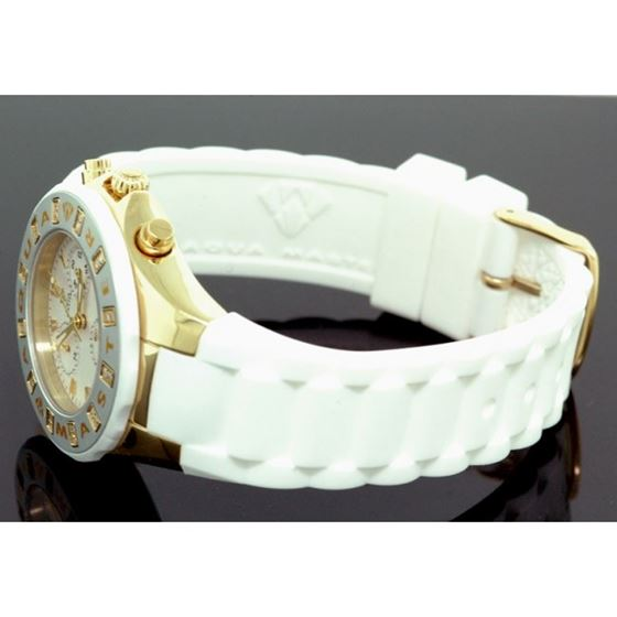 Agua Master 0.24ctw Womens Jelly Diamond Watch w324A 2