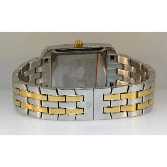 Aqua Master Swiss Classica Square 1.50 ct Diamond Mens Watch W308-WY 2