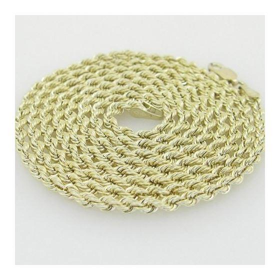 10K Yellow Gold rope chain GC5 2