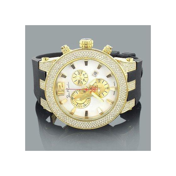 Watches: Broadway Mens Diamond Watch 5.00Ct-4
