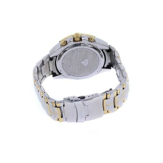 Men's Sensation Series Dual-Color White/Gold-2
