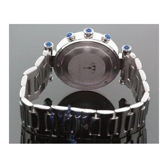 Unisex Aqua Master Diamond Watch 3.25 Ct W-93-4