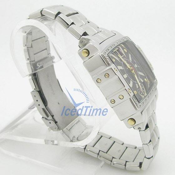 Mens Aqua Master Iced Out Diamond Watch W329AQ1 4