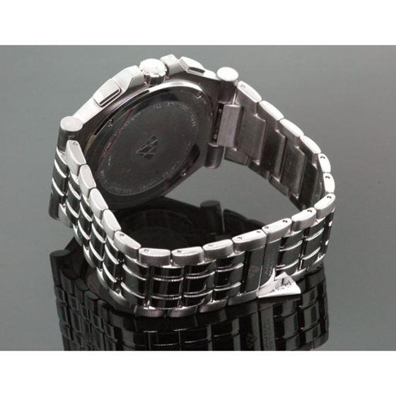 Aqua Master Mens Swiss Made Diamond Watc 53553 2