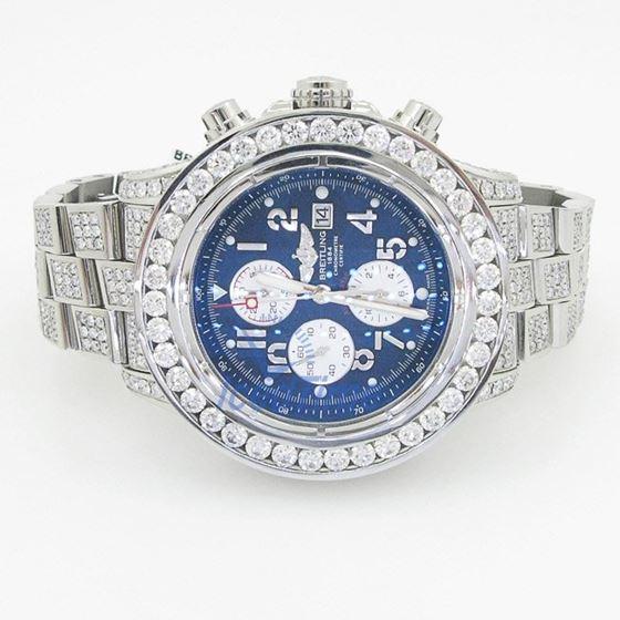 Breitling Super Avenger Chronograph Mens 55389 4