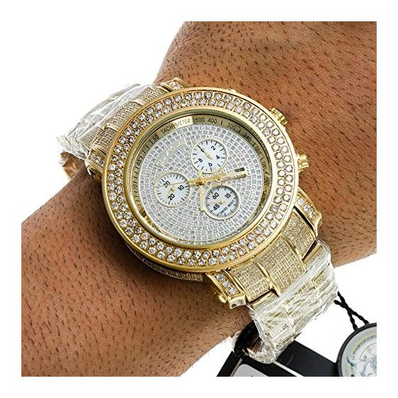 Iced Out Watches Junior Diamond Watch 19.25-4