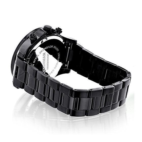 Liberty Black Diamond Watch For Men 1/4Ctw Of Di-2