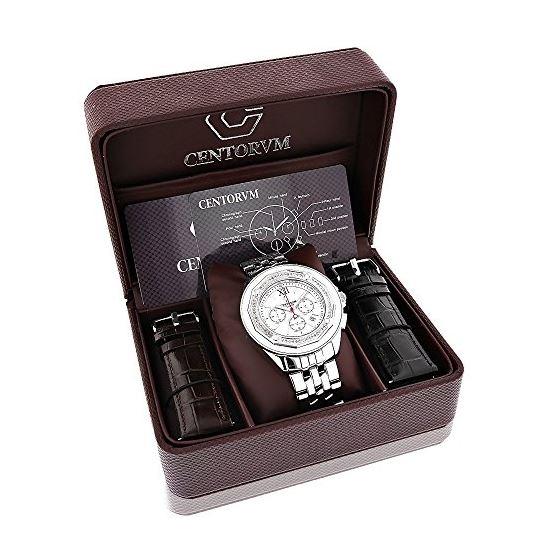Centorum Real Diamond Watches: Mens Mids 89658 4