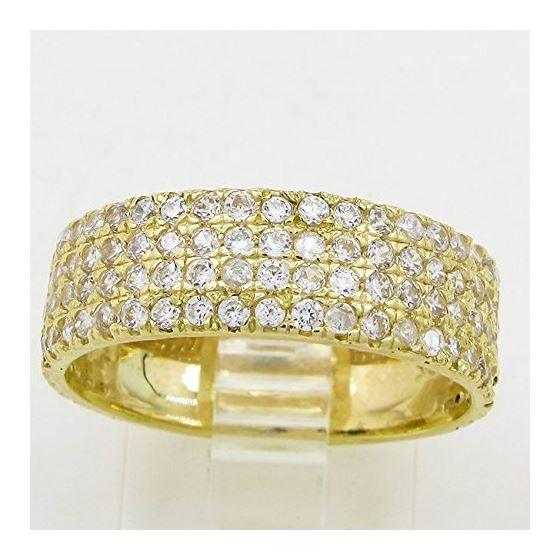 10K Yellow Gold womens wedding band enga 63172 2