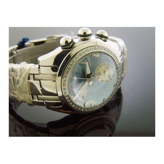 Swiss Movt 0.60Ct Diamond 40Mm Watch-2