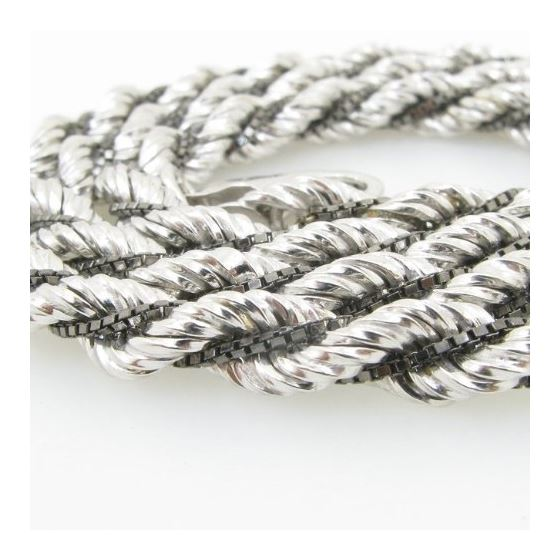 925 Sterling Silver Italian Chain 18 inches long and 5mm wide GSC86 2