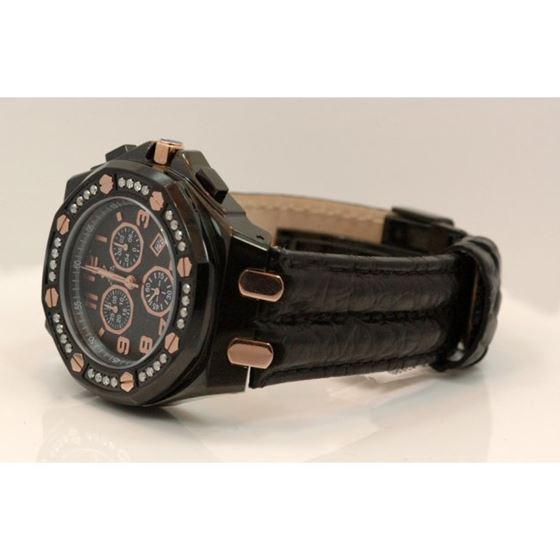 Aqua Master Royal Oak Mens Diamond Watch 49220 2