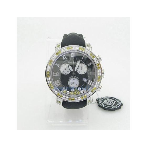 Yellow And White Benny Co Diamond Watch BNC6 2
