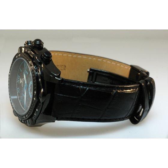 Aqua Master Mens Diamond Black PVD case  54584 2