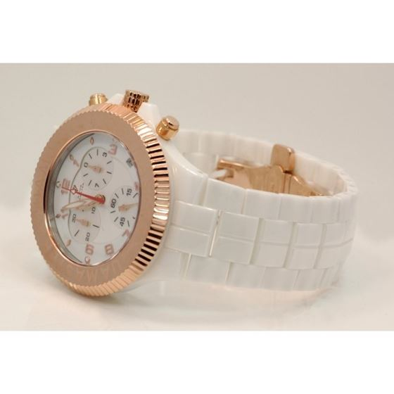 Aqua Master Mens Ceramic Quartz Watch W3 53479 2