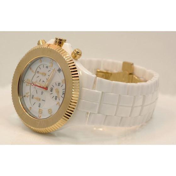 Aqua Master Mens Ceramic Quartz Watch W332 2