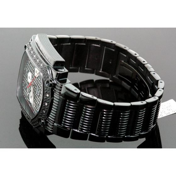 Agua Master 0.16ctw Mens Diamond Watch w 55535 2