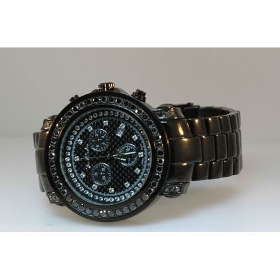 Joe Rodeo Mens Black Diamond Watch JJU302A 2