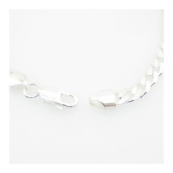 Curb Link ID Bracelet Necklace Length - 7.5 inches Width - 5.5mm 4