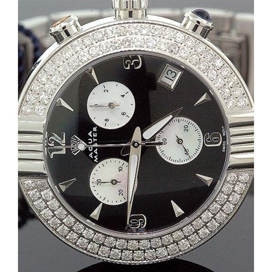 Ladies Aqua Master Diamond Watch 2.80 ct w-94a 2