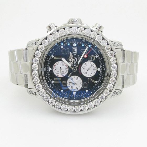 Breitling Super Avenger Chronograph Mens Watch A1337011-C792SS 4