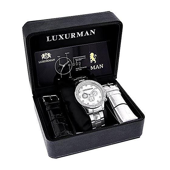 Luxurman Liberty Chronograph Real Diamon 90140 4