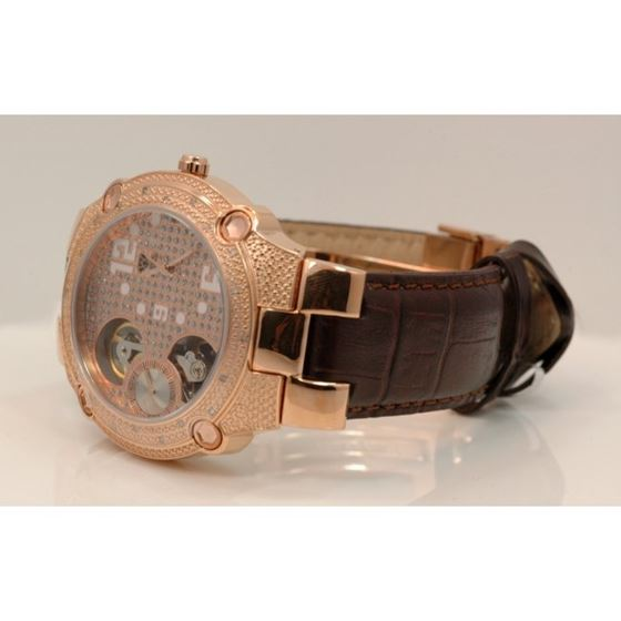 Aqua Master Mens Automatic Diamond Watch 49210 2